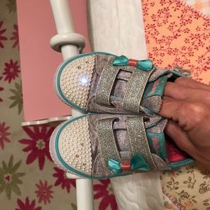 Sketcher Twinkle toes size 10 light up sneakers